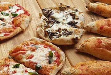 Pizze assortite